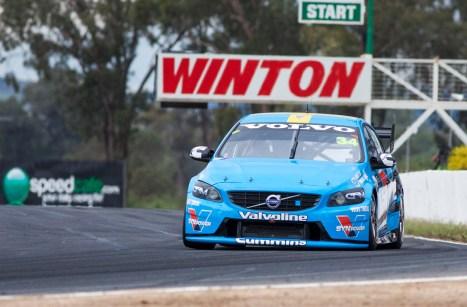 Volvo back at Winton