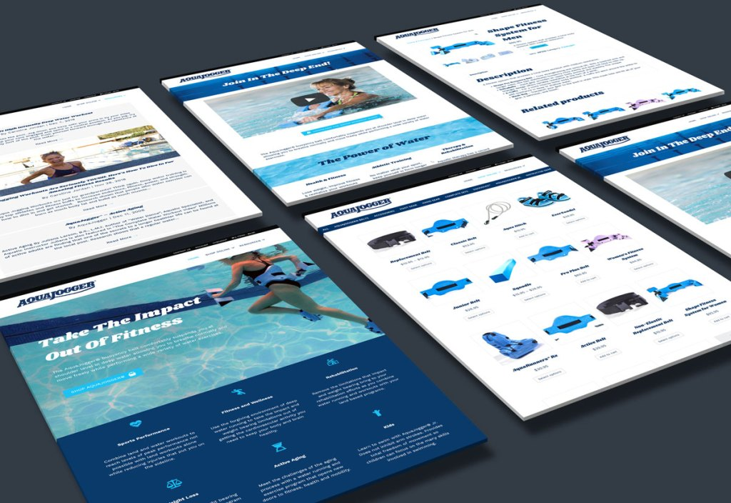 AquaJogger Website Thumbnail