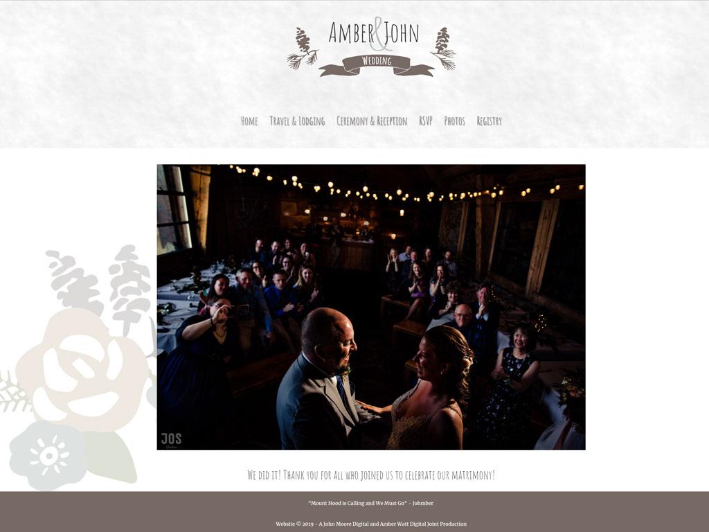 Johmber Website Screenshot