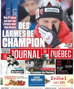 Journal de Quebec Cover