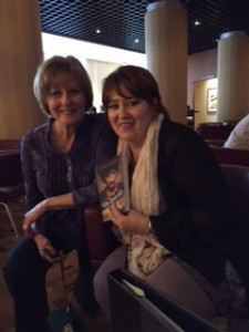 Authors Patricia Bradley and Marion Ueckermann at the ACFW Conference in Dallas.