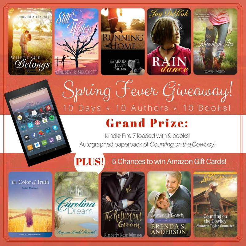 Spring Fever Giveaway Winners – Johnnie Alexander