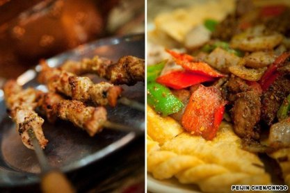 Street food is hugely popular in NYC. Food carts and trucks are everywhere and many serve some top notch food. Make sure to check out the cumin and spice infused kebabs at any of the Xinjiang carts in Queens.