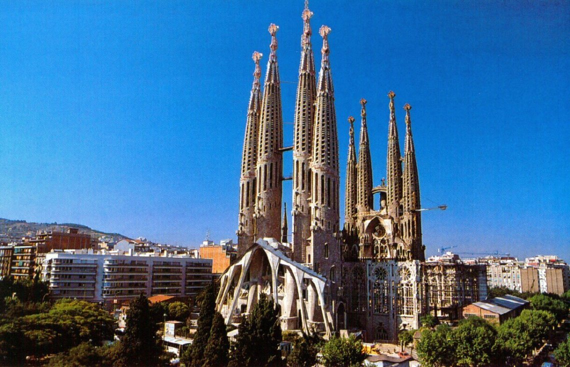 Of course, you can't forget about the countless cathedrals, museums, and castles like the Segrada Familiar in Barcelona.