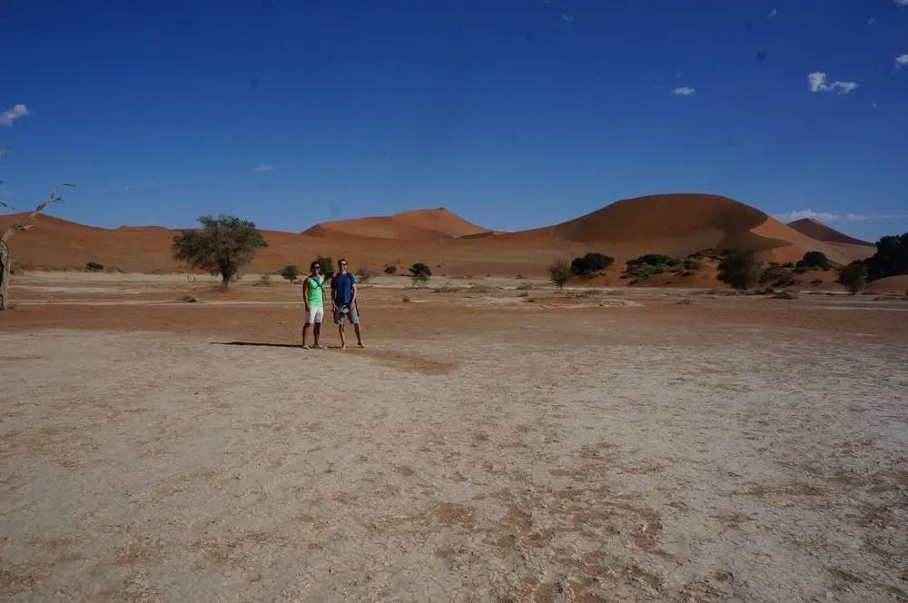 Sossusvlei namib desert salt pan namibia