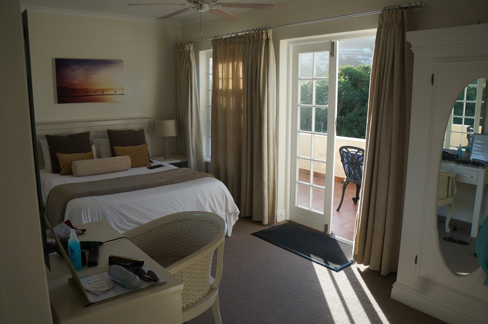 Our room at the Milkwood Manor.