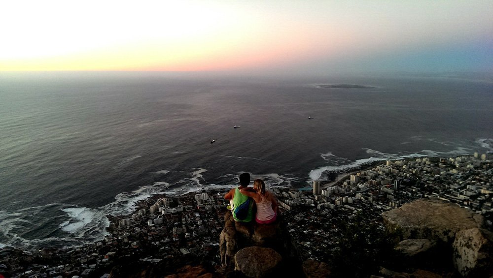 Lions Head hike sunset