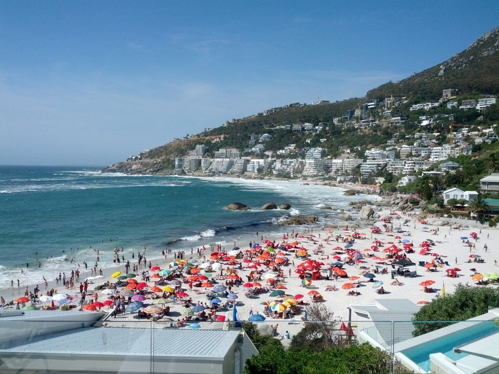 Clifton 4th beach.