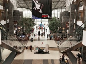 With malls like the Maponya Mall here, coming to Soweto really makes you wonder, is this place poor or not poor??