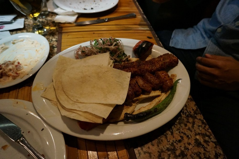 Deliciousness at Zubeyir Grill