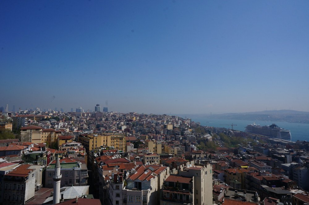 Some of the best views you'll get in Istanbul.