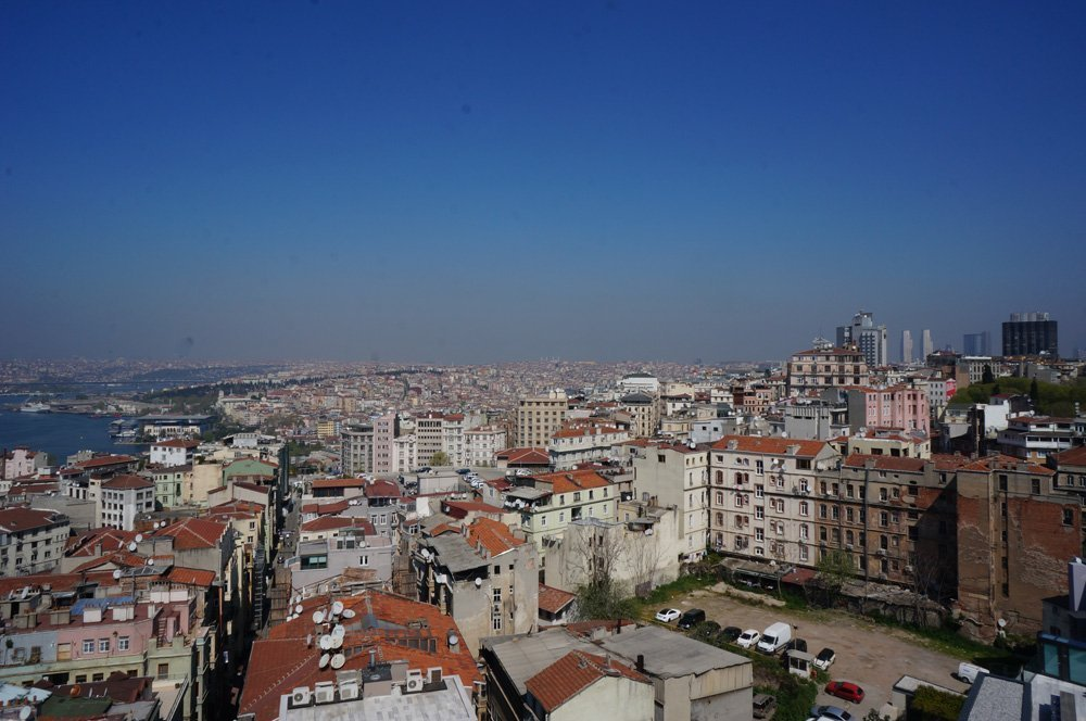 Views from Galata Tower