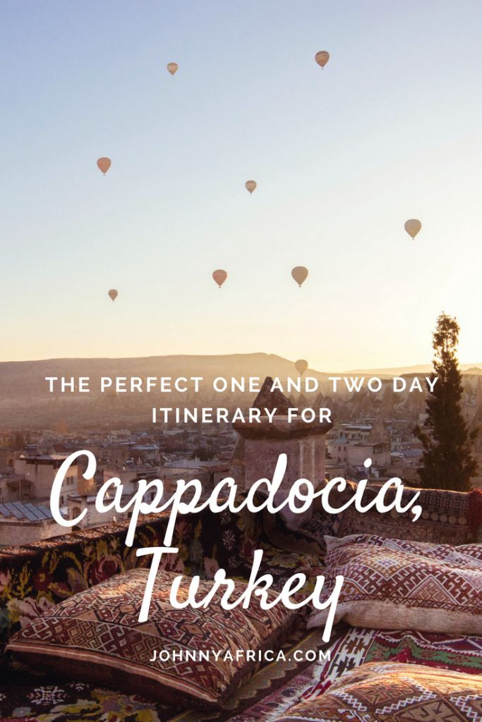 Cappadocia, pronounced Kappa-Dokia, is a region in central Turkey famous for its unique moon-like landscape filled with houses carved in caves, underground. The best hot air ballooning in the world can be found here so be sure to have that on the itinerary!