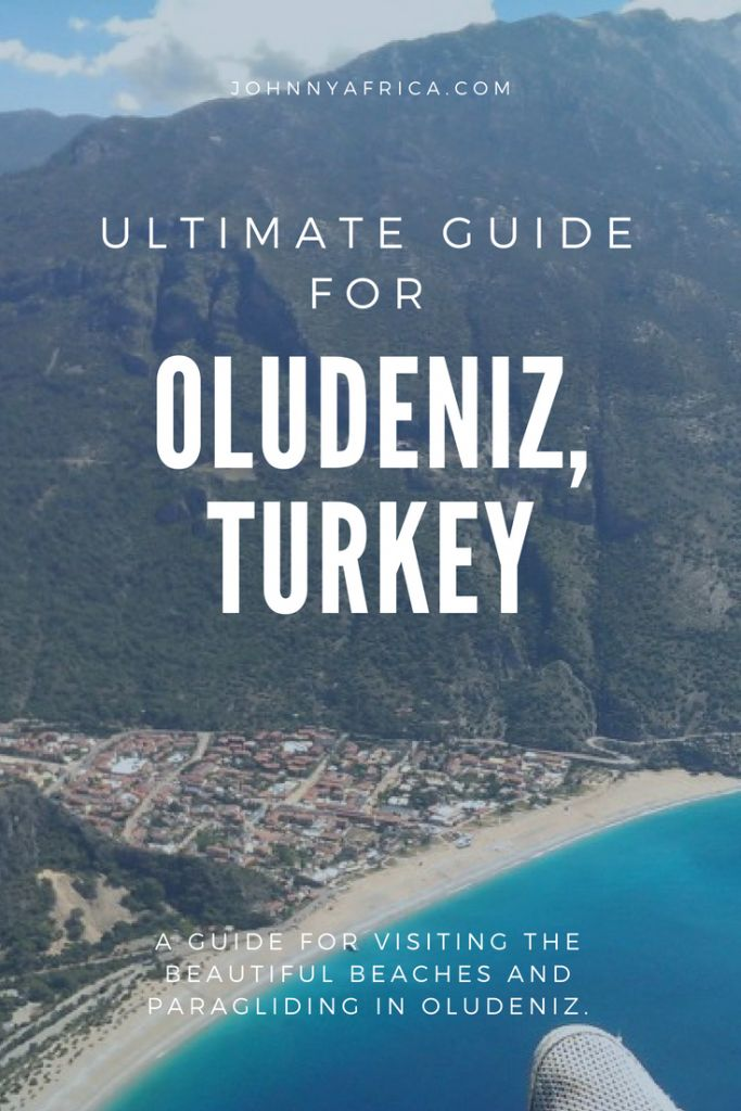 Oludeniz is a lesser known tourist destination but one that all Turkish people I've met have told me is a must. They were right. From the high Badabag mountains to the impossibly turquoise water of the sea, it is the perfect beach getaway. Also, the paragliding here is the highest in the world at over 2km!