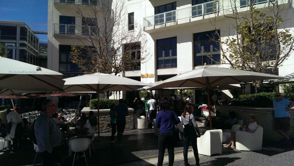 Having a posh brunch at Tasha's Melrose Arch