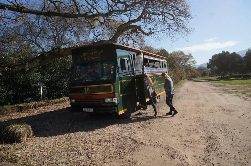 Our winetram bus