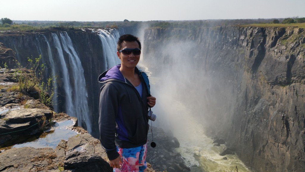 View of Vic Falls from the Zambian side, also stunning!