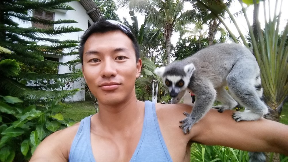 But in the end, what a badass lemur. Wish I could take him with me
