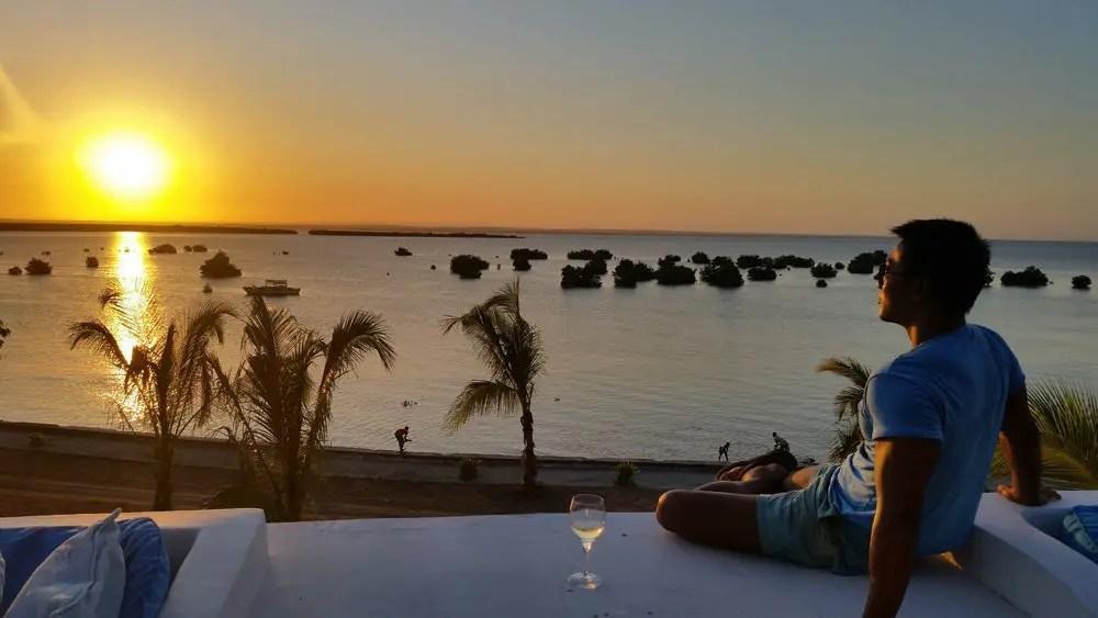 Ibo Island Lodge sunset quirimbas