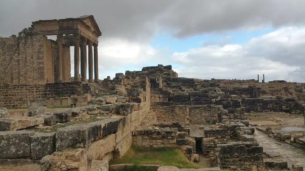 Ruines romaines de Dougga
