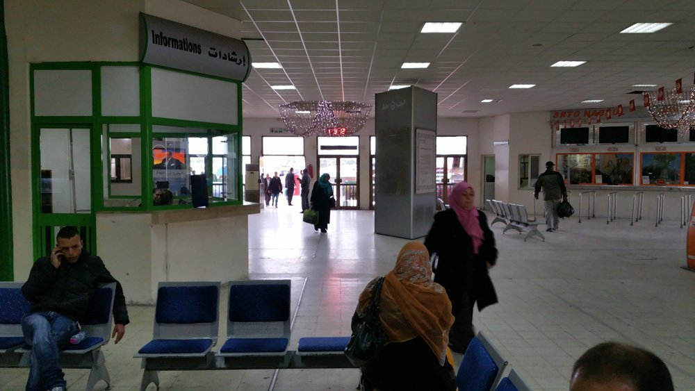 Tunis bus station