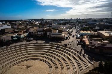 View of El Jem