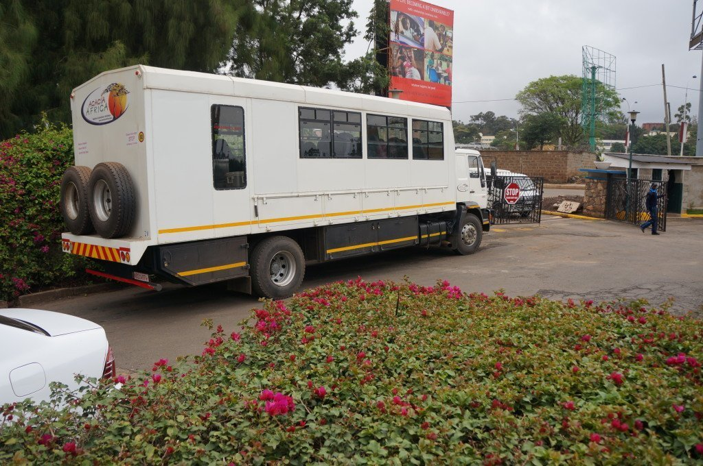 Acacia Africa overland truck
