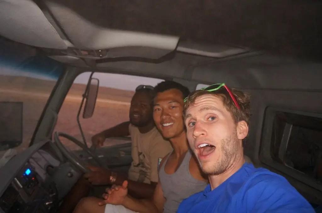 Namibia overland truck