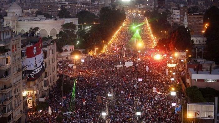 Tahrir Square Revolution.