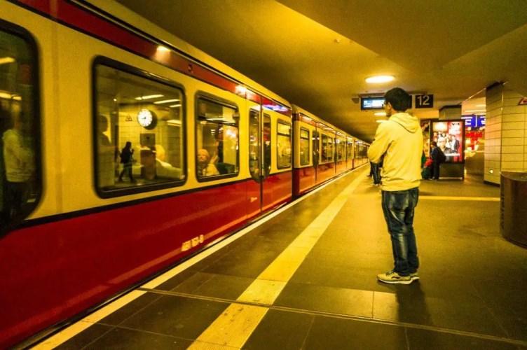 Berlin ubahn train
