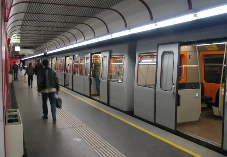 Vienna U-Bahn station
