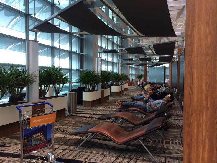 Changi Airport Snooze Lounge