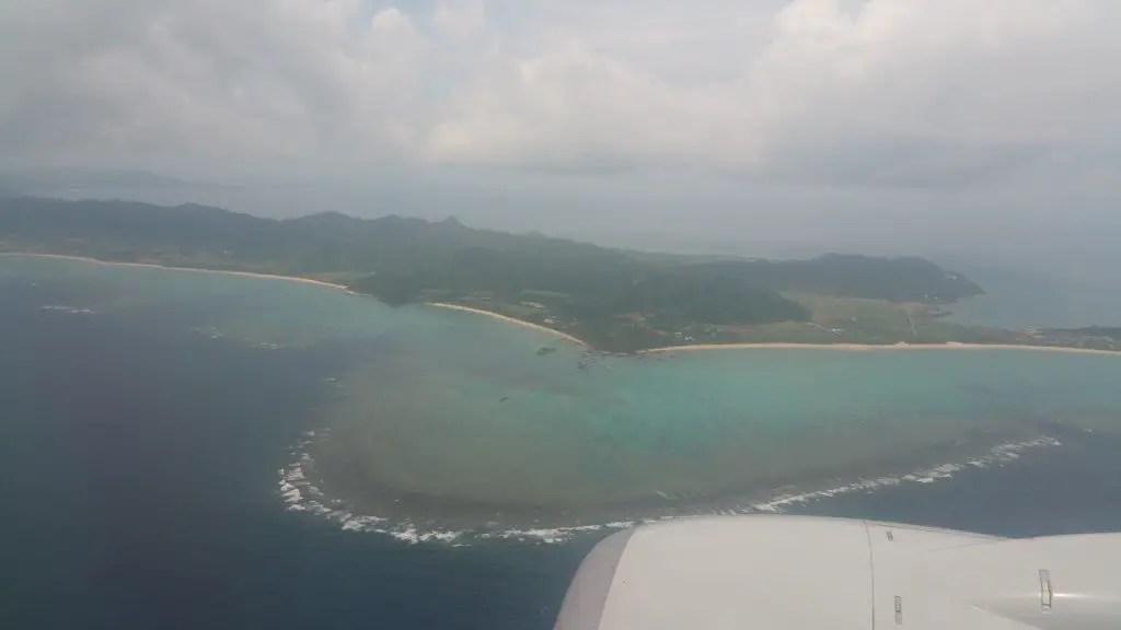Ishigaki from sky