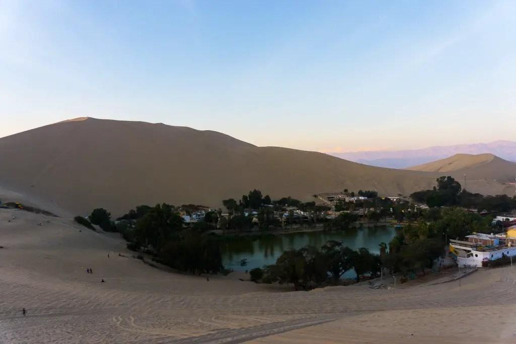 Huacachina view