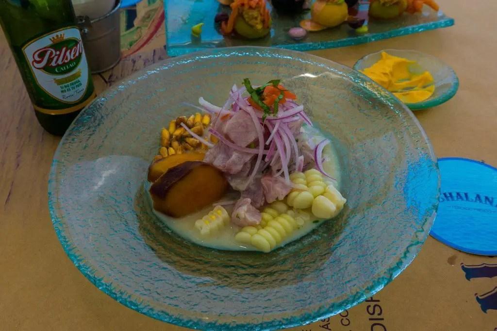 Chalana ceviche paracas
