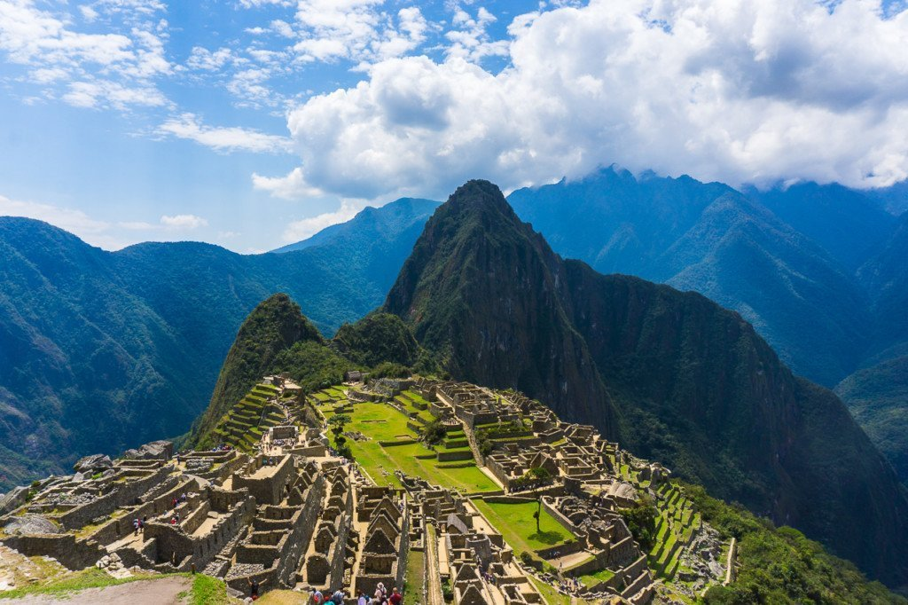 Machu Picchu views