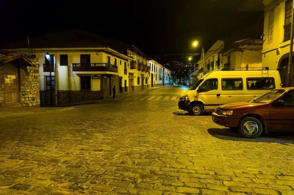 Cusco evening