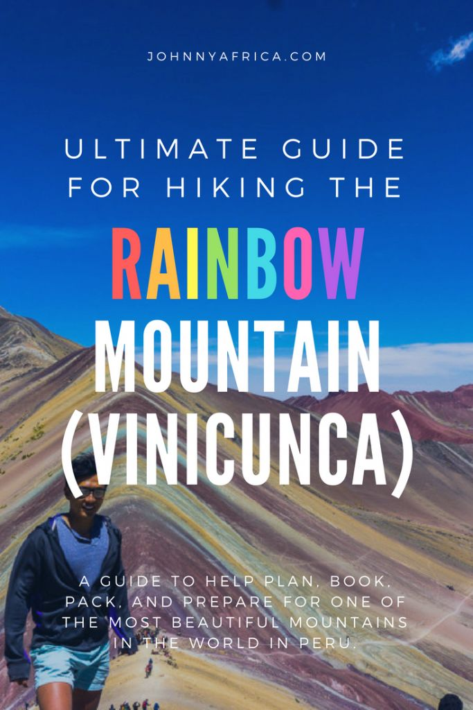 Outside of Cusco, at over 5000m high, lies one of the most colorful mountains in the world. The rainbow mountain lives up to its name and is one of two multi-colored mountain ranges in the world. This is one of the best hikes you can do in Peru and can be done in a day trip!
