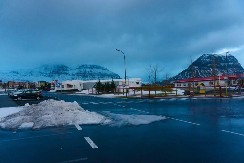 Kirkjufell mountain from grundarfjordur