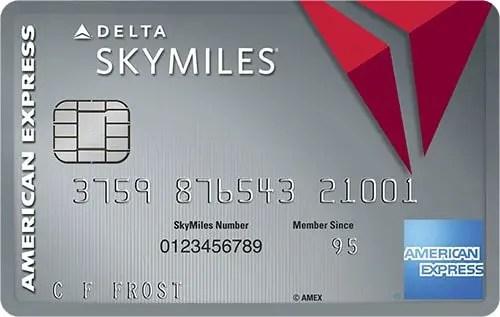 Delta Platinum Skymiles AmEX