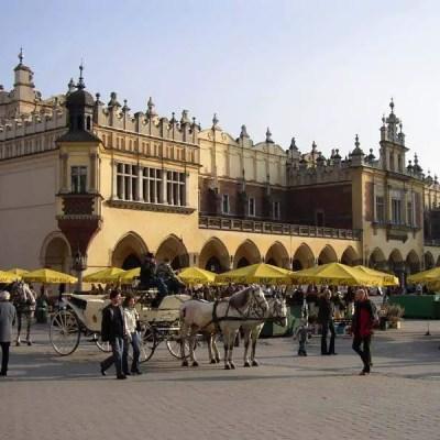 Krakow main square rynek