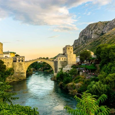 Old Bridge Mostar Bosnia and Herzogovina