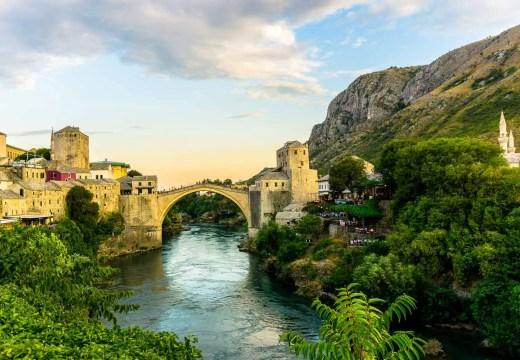 Old Bridge Mostar Bosnia and Herzogovina