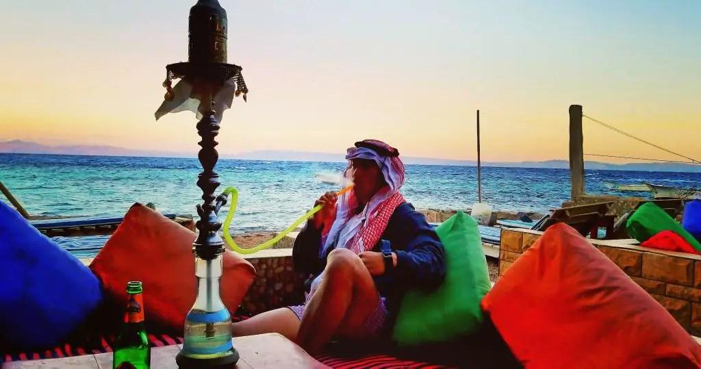 Dahab shisha sunset