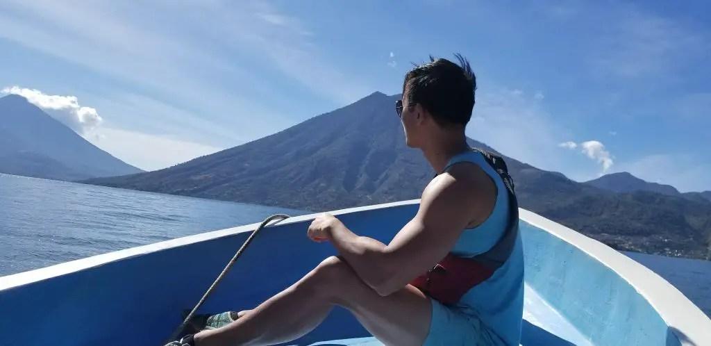 Taxi boat lake atitlan guatemala