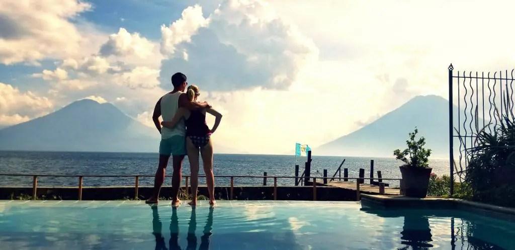 Casa ven aca infinity pool jaibalito lake atitlan