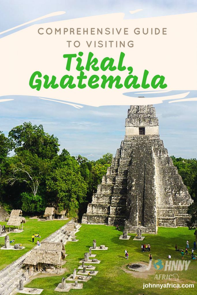 Tikal, the capital of the ancient Mayan world houses the largest and most stunning displays of Mayan architectures. There are over a dozen different temples in this huge complex and it is worth the trip for anyone visiting Guatemala. #guatemala #centralamerica #guatemalatravel #tikal #mayanruins