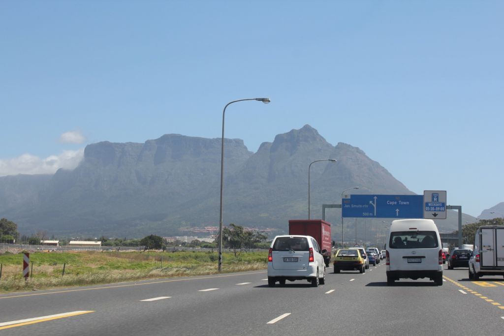 highway cape town n2 driving