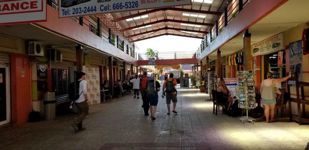 Ferry station belize city