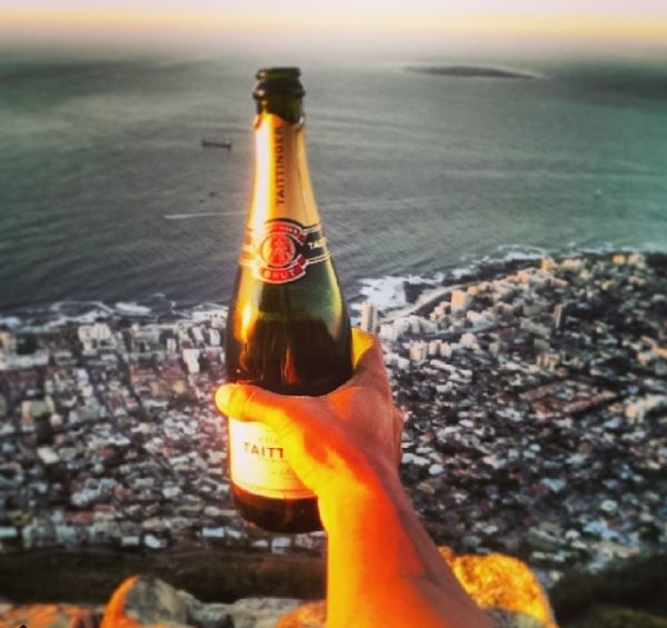 sunset drinks lions head cape town